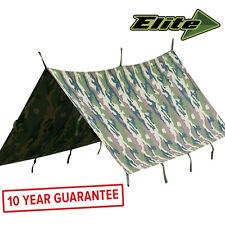 Lightweight Rip-Stop Waterproof Camping Fishing Basha Hootchie Shelter 2 x 3m CE