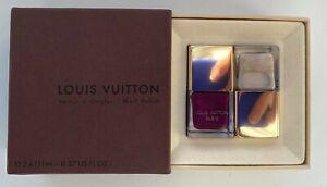 LOUIS VUITTON nail polish set 11ml x 2 BERRY BEIGE VERY RARE BNIB