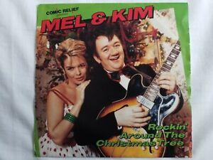 """Mel & Kim - Rockin Around The Christmas Tree - 7"""" Vinyl Single"""