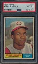 1961 Topps #360 Frank Robinson HOF  PSA 8  NMMT 54709