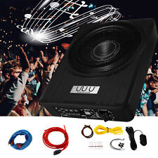 10 Inch Car Audio Subwoofer Under Seat Power Supper Bass Sub Box 250W