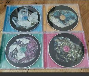 Bjork Mega RARE The Crystalline Series. Remix CD series 1-4. Complete LIKE NEW
