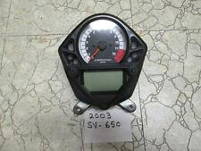 Suzuki SV650 speedometer