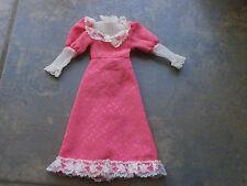 Sindy doll clothes. 1982 Fair lady pink dress. Some tlc Pedigree