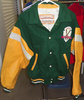 Vintage LOUISVILLE SLUGGER Authentic Letterman Varsity Baseball Bat Jacket sz M
