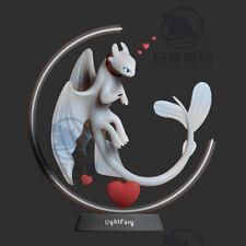 Light Fury Unpainted Figure Blank Kit Model Resin GK 30cm Hot Toy In Stock New