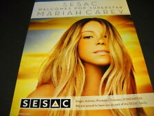 Mariah Carey singer actress producer visionary 2014 Promo Poster Ad from Sesac