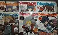 NewType USA Magazine Lot of 10 issues 2004-2008 manga anime- 2 sealed w/ dvd