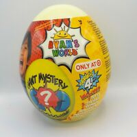 TARGET Exclusive RYAN'S WORLD SERIES 4 YELLOW GIANT MYSTERY EGG