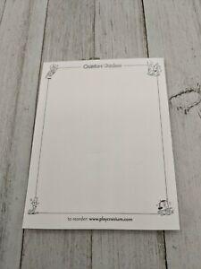Cranium Cadoo Game 2002 Drawing Pad Paper Replacement Part Piece