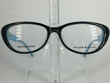 Kate Spade Stephie Women's Plastic Eyeglass Frame 0JRH Black Pool 51-15 NEW!