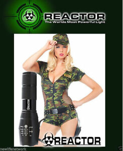 SHADOW TC1200 BLACK HAWK Flashlight REACTOR EXTREME IN STOCK NOW FREE SHIPPING