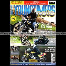 YOUNGTIMERS MOTO 9 ESSAI MARTIN SUZUKI GSX 1100 HONDA 250 SPAZIO DUCATI 900 SD