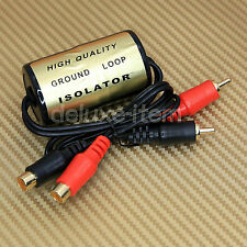 20 AMP RCA Noise Filter Ground Loop Isolator Hum Killer