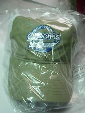 G. LOOMIS OLIVE/WHITE MESH BACKED BASEBALL CAP