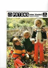 Patons 578 - toddler designs - knitting / crochet patterns