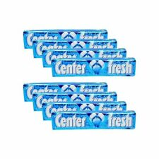 Center Fresh Liquid Filled Spearmint Flavour Chewing Gum 15 gmX 8 pack free ship