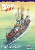 "GENUINE PAPER-CARD MODEL KIT - ""JEANNE D'ARC"" French Armored Cruiser"