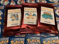 Sad Pack Custom Pokemon All Vintage WOTC 11 Booster Card Custom Pack!