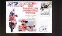 CASEY STONER 2007 DUCATI AUSTRALIAN MOTO GP WIN COVER 4