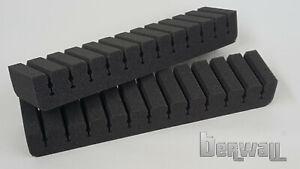 berwall Pfeilhalter Schaumstoffhalter für Bogenkoffer / Bogentasche