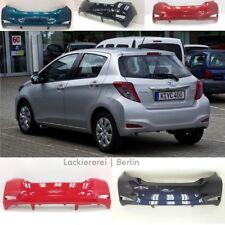 Toyota Yaris 2011-2014 STOßSTANGE HINTEN LACKIERT IN WUNSCHFARBE neu & passgenau