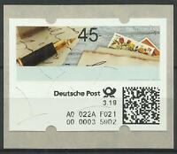 Versuchs - ATM selbstklebend postfrisch - 0,45 €  -  3/19