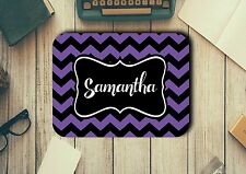 Personalised Mouse Pad Easy Glide Non Slip Tough Neoprene Add A Name Gift Ideas