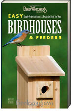 Birdwatcher's Digest Easy Birdhouses and Feeders Simple Projects 2014,Paperback