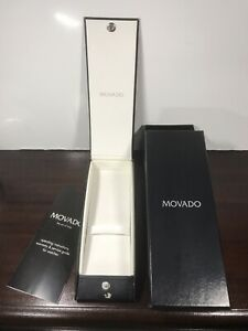 MOVADO Empty Watch Display Box with Booklet Only