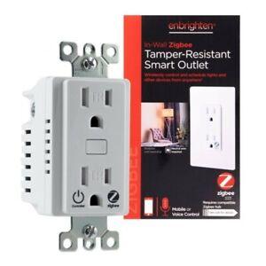 enbrighten tamper resistant smart outlet