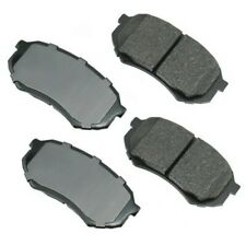 Frt Ceramic Brake Pads  Akebono  ACT589