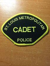 PATCH POLICE ST. LOUIS CADET METROPOLITAN MISSOURI MO STATE