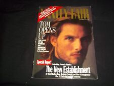 1994 OCTOBER VANITY FAIR FASHION MAGAZINE - TOM CRUISE COVER - J 1079