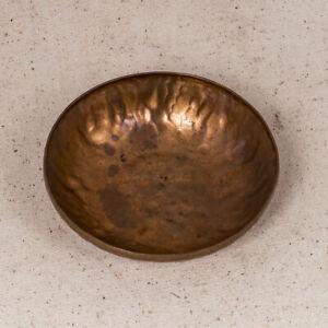 "Solid Copper 4-3/4"" Dish by W.H. Dunstan"