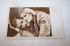 CINEMA - DOLORES COSTELLO, GRANT WITHERS - cartolina vintage - cm 9,1 x 14,4 -