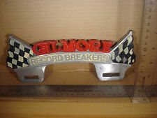 Gilmore The Record Breaker License Plate FOB Topper Wall Car Motoercycle