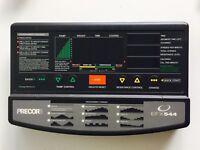 Precor EFX 544 C544 Elliptical PCA + Console Membrane Display Panel Board