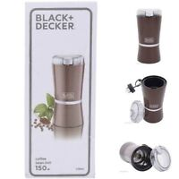 Black & Decker Electric Coffee Bean Grinder Mill CBM4 For UK/EU/Asia/Africa 220V