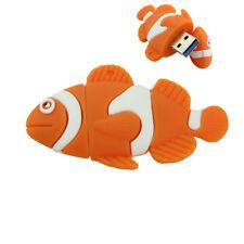 Funny Clownfish Cartoon Model High Speed USB 3.0 8GB Flash Drive Memory Stick