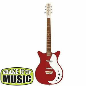 Danelectro Stock '59 Electric Guitar Red