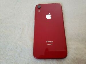 Apple iPhone XR 128GB Unlocked Beautiful Red in Pristine Used Condition