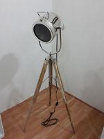 Collectible Theatre Studio Aluminium Spot Search light Floor Lamp  Tripod Stand