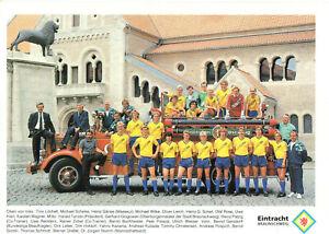 Mannschaftskarte - Eintracht Braunschweig - 1989/1990