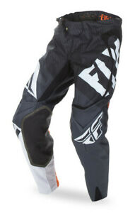 FLY RACING EVOLUTION 2.0 MX PANTS BLACK/WHITE/ORANGE