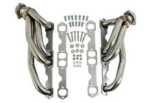 STAINLESS STEEL EXHAUST HEADERS For Chevy GMC 88-97 C1500 C2500 Pickup 5.0L 5.7L