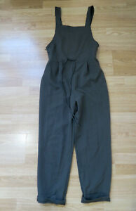 ZARA Khaki / Olive Green Jumpsuit / Dungarees - Size Small