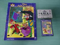 Basil El Raton Detective Audio Tales Book + Cassette WALT DISNEY Spanish
