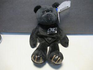 Woodson Premium Pro Bear NFL Plush Stuffed Toy 1998 Oakland Raiders Free USA Shi