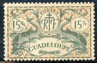 STAMP TIMBRE COLONIES FRANCAISES / GUADELOUPE OBLITERE N° 196 SERIE DE LONDRES